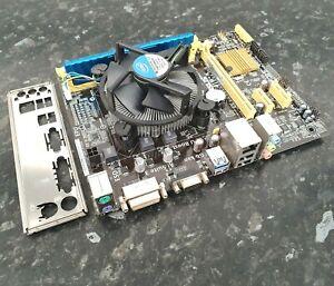 i5-4670 @ 3.40GHz Quad Core 4GB DDR3 Asus H81M-K Combo Bundle Working ED1105