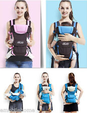 Multipurpose Adjustable Baby Carrier+Hip Seat+Waist Belt Wrap Sling Backpack