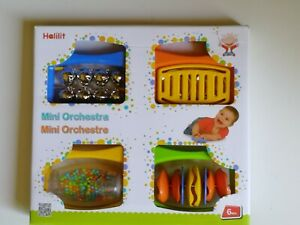 BABY BAND SET Baby/Toddler Musical Educational Nursery Toy/Gift BN Halitat