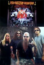 Slayer Poster The Unholy Alliance Rare Hot New 24X36