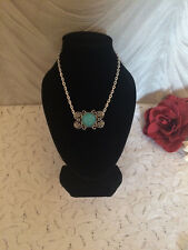 TURQUOISE NECKLACE - BUTTERFLY
