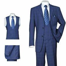 Men's 3 Piece Luxurious Suit With Vest&Pants Two Button Two Side Vents 5702V6