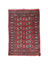 4' 2'' x 2' 7'' (ft) Hand Knotted | Pakistani Bokhara | Area Rug | StampaRugs