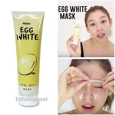 Mistine Egg White Facial Mask Whitening Pore less Anti-Blackhead Peel Off Face