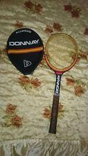 Vintage Wooden Tennis Racquet Donnay Borg