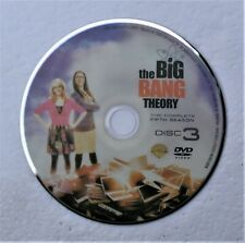 (ZERO SCRATCHES) BIG BANG THEORY SEASON 5 DISC 3  REPLACEMENT DVD DISC ONLY