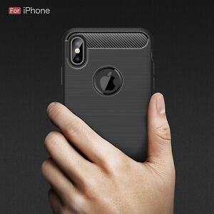 For Apple iPhone XR Xs Max X 8 7 Plus 6 5 Se 2020 Case Cover Phone Slim Grip