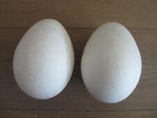 Styropor-Eier Ø 4cm voll Höhe 6 cm