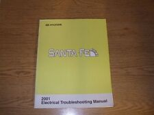 2001 HYUNDAI SANTA FE shop Electrical Manual oem factory