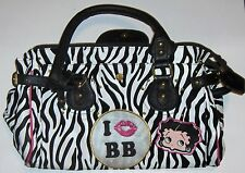 Betty Boop large Zebra Boutique Purse - 2011 king features syndicate (polka dot)