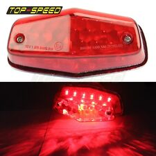 LED Lucas Style Tail Light Rear Lamp Replacement Taillight Assembly Universal 1x