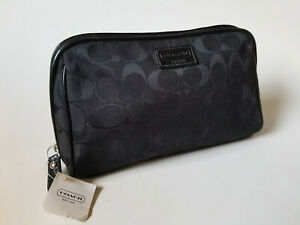 Coach Medium Cosmetic Pouch Toiletry Bag Makeup Travel Case 42525