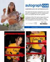 ALY MICHALKA signed Autographed 8X10 PHOTO B - PROOF - iZOMBIE HOT Sexy ACOA COA