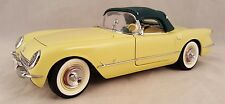 Danbury Mint 1955 Chevrolet Corvette Limited Edition 1:24 Scale Diecast Yellow