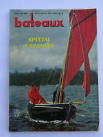 Revue magazine BATEAUX n°97 juin 1966 / VAURIEN FENNEC BALEARES DINGHY