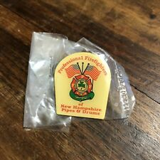 Vintage Chelsea, MA Fire Department Local 937 Pipes & Drums Lapel Pin
