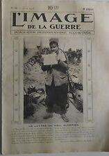 L' Image de la guerre N° 32 Juin  1915 - Chasseur alpin Cycliste Italien