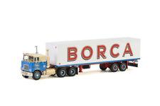 Borca; MACK F700 6x4 CLASSIC BOX TRAILER - 2 AXLE