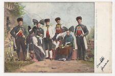 Badische Volkstrachten Hanauer Aus Legelshurst 1905 Postcard Germany 395a
