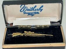 Vintage Weatherby Rifle Advertising Tie-Clip or Clasp