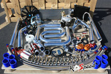 FOR TOYOTA 4A-FE 4AFE AE95 AE92 T25 TURBO KIT DIY FMIC BOV PIPING OIL LINE