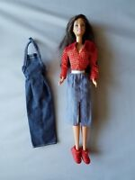 Mattel Barbie Fashion Avenue 2 Denim Dresses & Sneakers