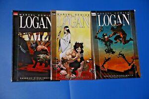Marvel Knights LOGAN #1-3 complete BRIAN K VAUGHAN WOLVERINE X-Men