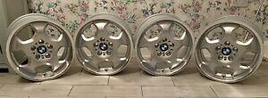"Genuine BMW E36 M3 17"" Style 23M 7.5J & 8.5J Staggered Alloy Wheels Set"