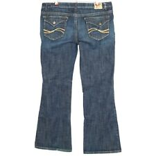 Chip & Pepper Womens Junior Jeans La Jolla Flare Size 17 X 32 Stretch