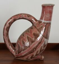 Handcrafted Italian Picasso Style Pottery Sculpture, 1950s