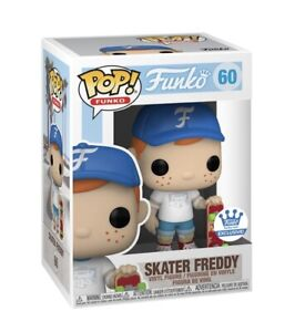 Funko Pop! Freddy: SKATER FREDDY #60 Funko Shop Exclusive