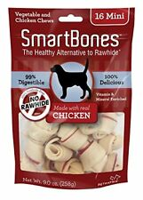Smartbones Chicken Dog Chew, Mini, 16 Pieces/Pack