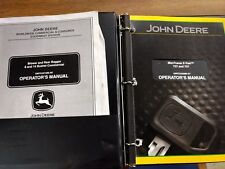 John Deere 737 and 757 Mid-Mount Z-Trak Operator's Manual Blower and rear Bagg