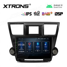 """10.1"""" Android 10.0 Car GPS Stereo Radio Wifi IPS DSP For Toyota Highlander 08-13"""