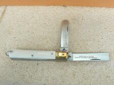 Coltello Duetto punta tonda manico bianco 0580/503 17 cm