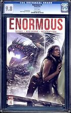 ENORMOUS #1 VOLUME 1 REGULAR COVER CGC 9.8 WHITE PAGES  SALE!