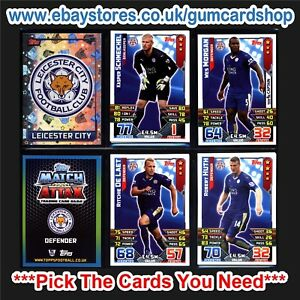 Match Attax 2015/2016 (Leicester City) *Please Choose Cards*