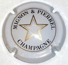 Capsule de Champagne : Très rare !!!  MIGNON et PIERREL  , n° 9 , blanc