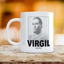 Vergil Becher Schwarz Weiß Plakat Liverpool Van Dijk 284ml Keramik Kaffee Tee