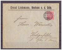 Deutsches Reich, MiNr. 56 Neuhaus a. d. Oste nach Heiligenfelde 27.07.1901