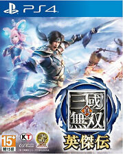 Shin Sangoku Musou Eiketsuden HK Chinese subtitle Version Japan Voice PS4 NEW