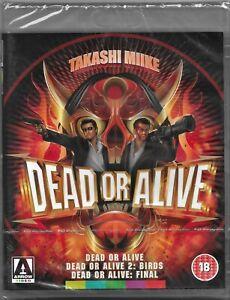 Takashi Miike's: Dead or Alive Trilogy Blu ray Region B Includes Registered Post