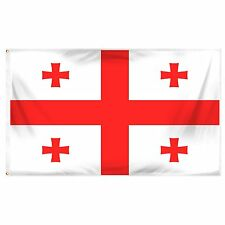 Online Stores Georgia National Printed Polyester Flag, 3 by 5-Feet - D1506 AM42