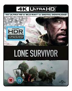 LONE SURVIVOR- (4K UHD + BD + UV) [Blu-ray] [2017] [DVD][Region 2]