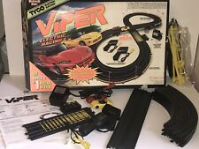 1997 TYCO VIPER Electric Racing Set W/ Box & 2 Slot Cars HO Scale COMPLETE