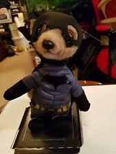 Official Ltd Edition Batman Meercat Collectable Soft Toy Plush