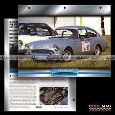 #108.06 ★ SUNBEAM ALPINE LE MANS 1962 ★ Fiche Auto Car card
