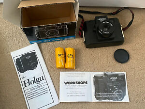 Vintage Camera, Holga 120 Film Camera With Film