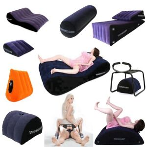 Inflatable Sex Aid Pillow Love Position Cushion Couple Frame Furniture US Stock