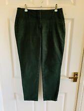 Dark Green Zara Trousers Size 10 Eur 38 (5307)